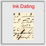 Forensic ink dating testing