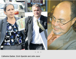 Which former executive implicated Sandals in TCI corruption?