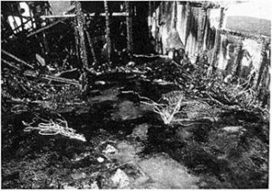 Irregular Burn Patterns on a Floor of a Room, Burned in a Test Fire in Which no Ignitable Liquids Were Used